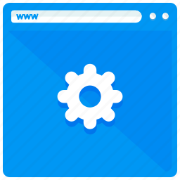 browser, internet, settings, website icon