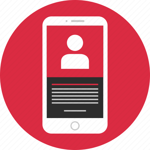 login, mobile, user, wireframe icon