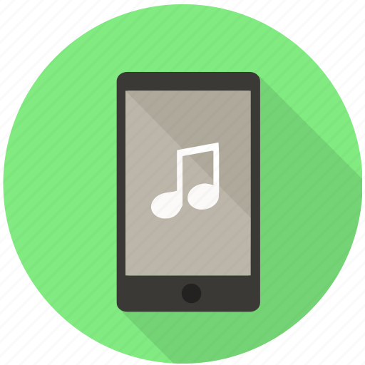 audio, media, mobile, music, songs, voice icon