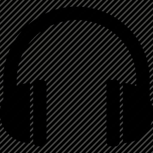 audio, head, headphones, listen, music, phones, podcast icon