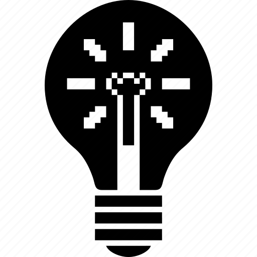 bulb, electric, electricity, energy, idea, lamp, light, lightning, off, on, power, power off icon