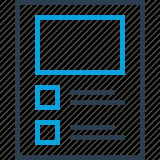 grid, layout, mockup, online, web, webpage icon