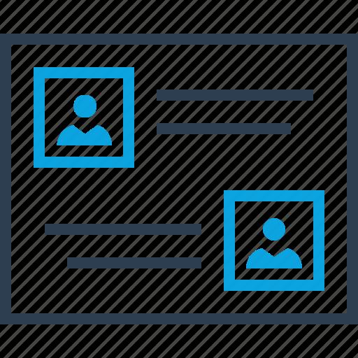 chat, conversation, friends, online, talk, web icon