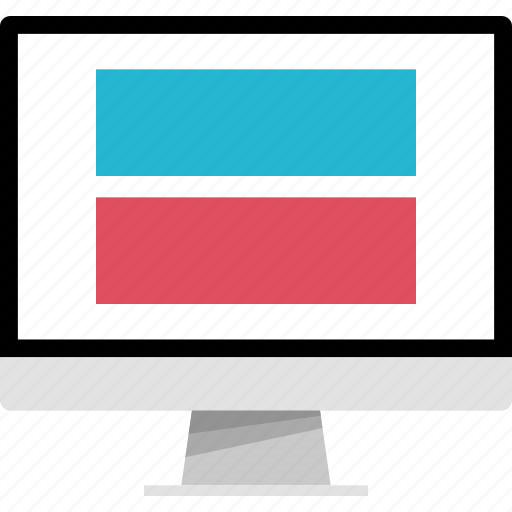 banner, double, mockup, online, web icon