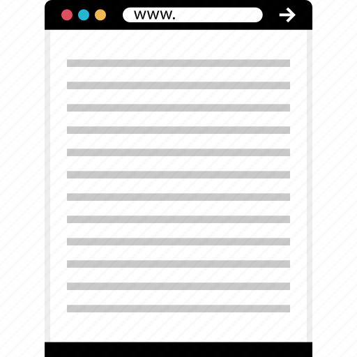 letter, mockup, online, web icon