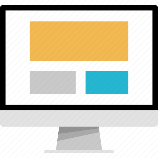 mockup, online, web, website icon