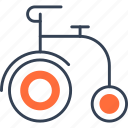 bike, cycle, mode, of, transport icon