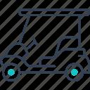 car, golf, mode, of, transport