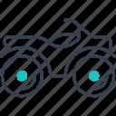bike, mode, of, quad, transport icon