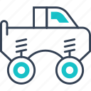 mode, of, tourism, transport, truck icon