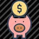 banking, cash, money, moneybox, piggy, save, wealth