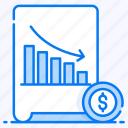 data analytics, financial chart, infographic, loss chart, statistic