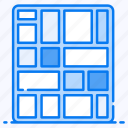 data analytics, hierarchical data, infographic, statistic, treemap