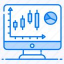 business monitor, data analytics, infographic, online data, pie chart, statistic, volume chart
