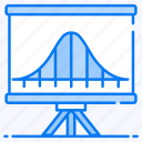 curve graph, data analytics, distribution chart, infographic, statistic