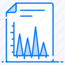 data analytics, graphical representation, infographic, statistic, triangle chart