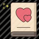 love, story, valentine