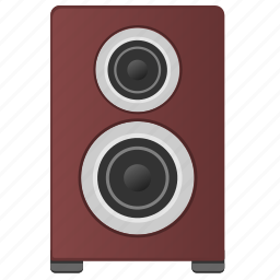 acoustic, device, melody, music, sound, speaker icon