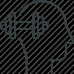 brain, training icon