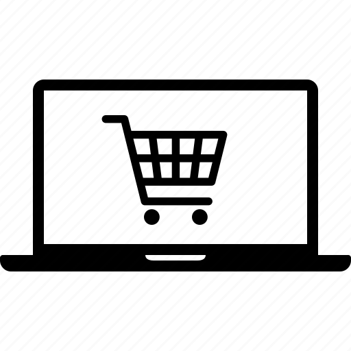 commerce, cyber, ecommerce, laptop, monday, online, shopping icon