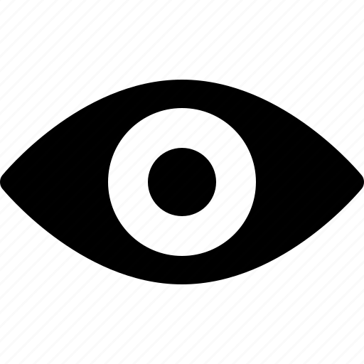 eye, eyeball, optic, optometry, retina, scan, view icon
