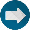 arrow, modern, modern social free, right, right arrow icon