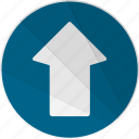 arrow, modern, modern social free, up, up arrow icon
