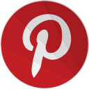 modern, modern media, network, pinter, pinterest, social, terest icon