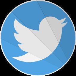 modern, modern media, social, twit, twitter icon