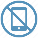 block, cell, cellphone, don't, phone, silence icon icon