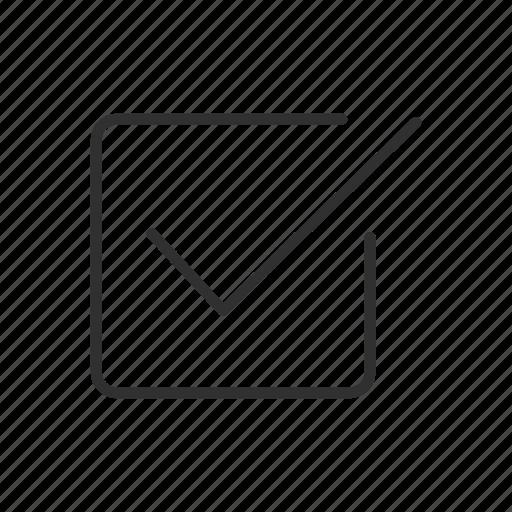 accept, approved, check, complete, correct, guaranteed, square and check icon