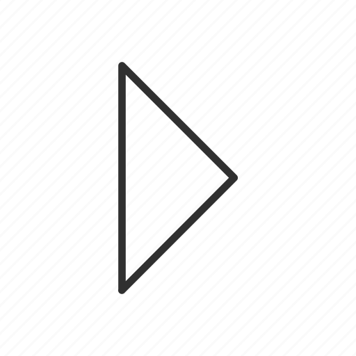 arrow, arrow right, direction, next, right, right symbol, west icon