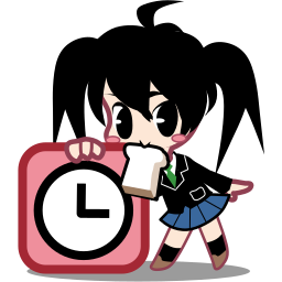 alarm, cartoon, clock, japan, time, timer, watch icon