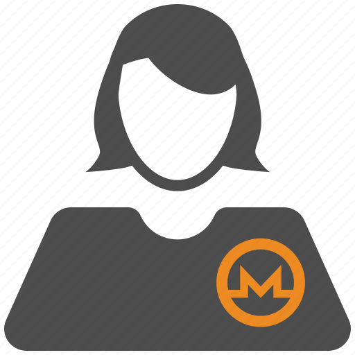 account, avatar, crypto, cryptocurrency, monero, user icon