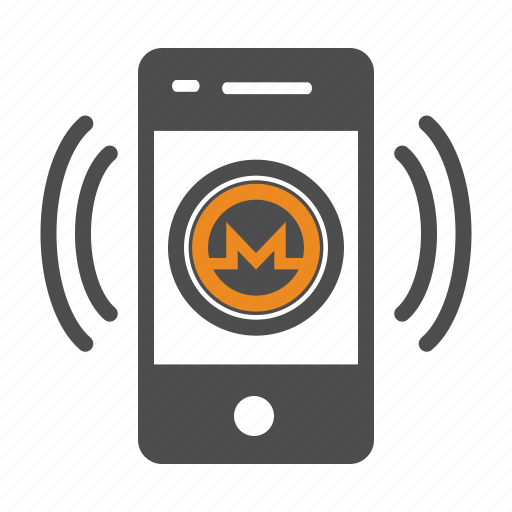 app, coin, crypto, cryptocurrency, mobile, monero icon