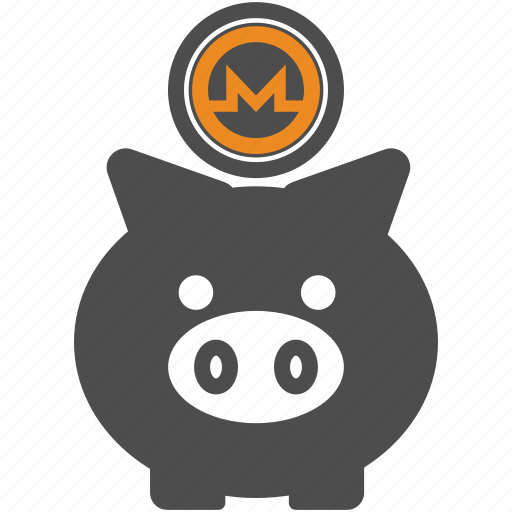 backup, coin, crypto, cryptocurrency, monero, save icon
