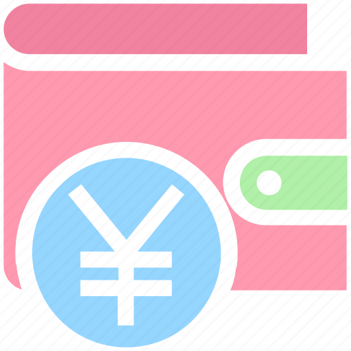 british, currency, ecommerce, money, payment, sterling, wallet, yen icon