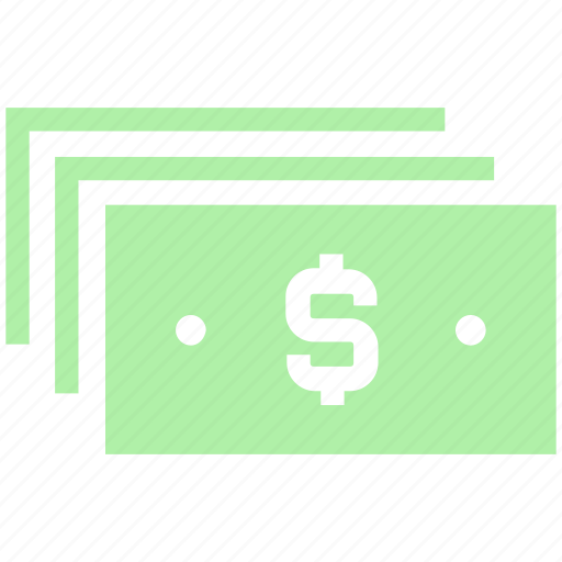 bank notes, cash, currency, dollar, dollar notes, finance, money, paper, payment icon