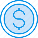 banking, coin, currency, fund, moeny icon
