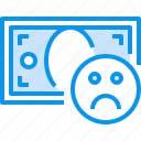 bad, banking, bill, currency, fund, money icon