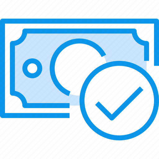 banking, bill, check, currency, fund, money icon
