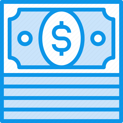 banking, bills, currency, fund, money icon