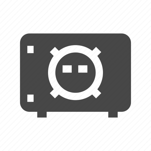 bank, dollar, finance, money, safe icon