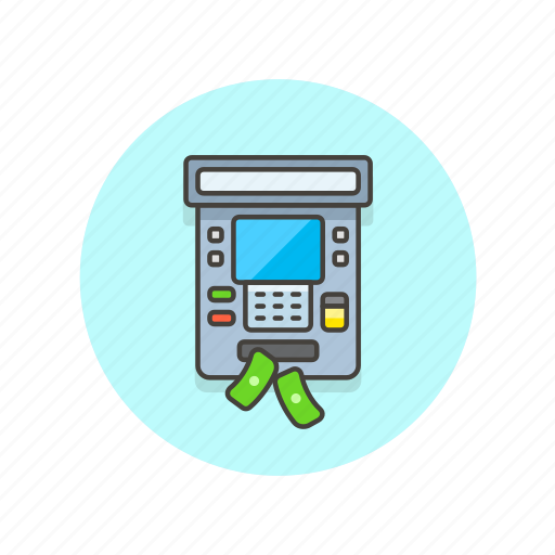 atm, bank, cash, currency, finance, money, withdraw icon