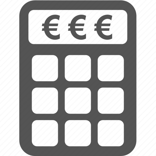 business, calculator, commerce, finance, money, sale icon