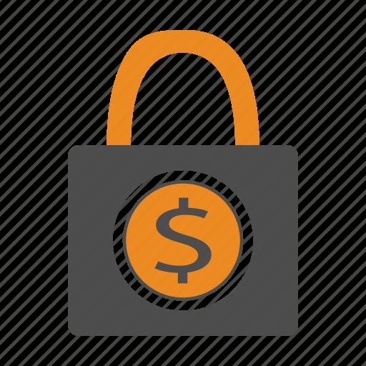 bill, cash, money, safe, secure icon