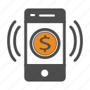 app, bill, cash, coin, coins, mobile, money icon