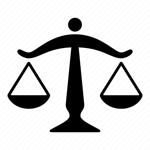 balance, compare, judgment, law, scale, weight icon