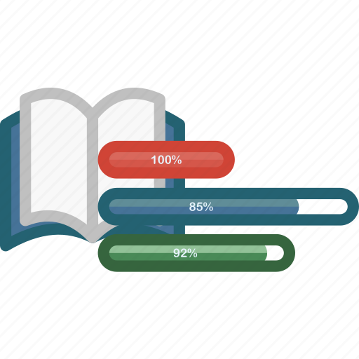 analytics, book, data, document, education, note, statistics icon