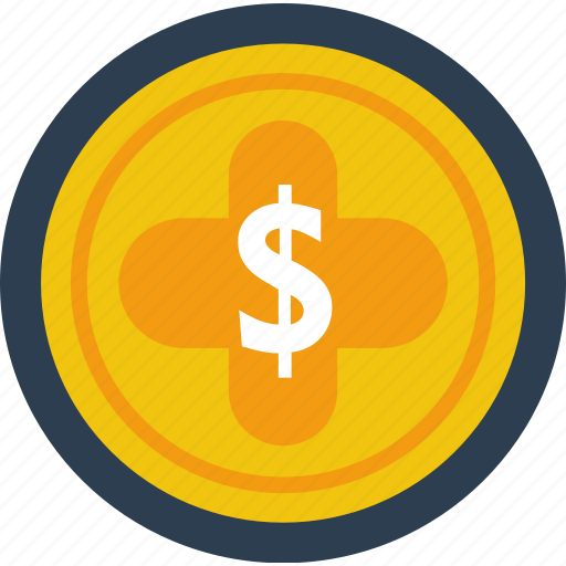 coin, dollar, finance, gold, investment, money, saving icon